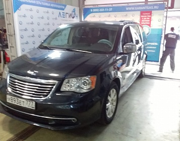 Chrysler Grand Voyager 2014 года 282.8 л.с. 3604