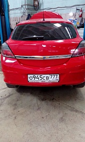 Opel Astra 2008 год 140 л.с. 1796
